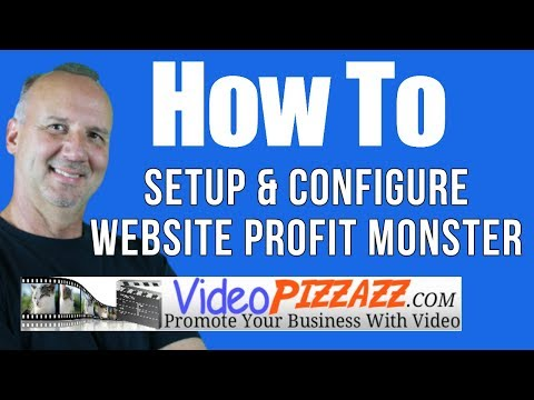 Website Profit Monster Setup - Lead Generation Wordpress Theme