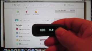 Fitbit One Unboxing, Setup, & Overview