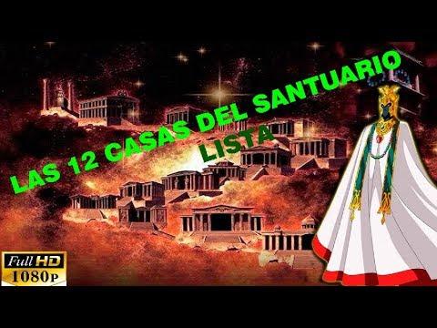 Lista de 12 casas doradas del santuario l caballeros del - Casas del zodiaco ...
