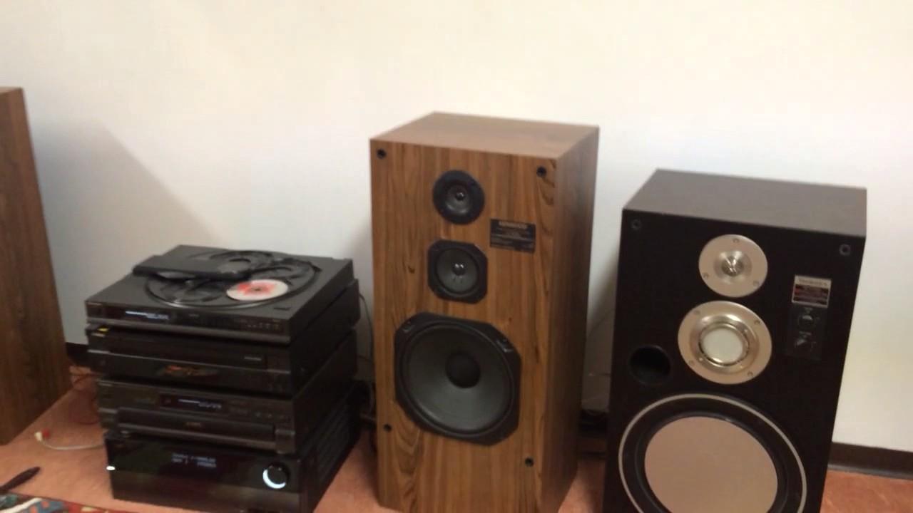 kenwood jl-505 demo - youtube