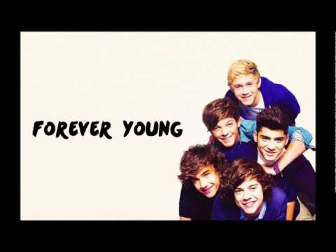 One Direction - Forever Young (lyrics)