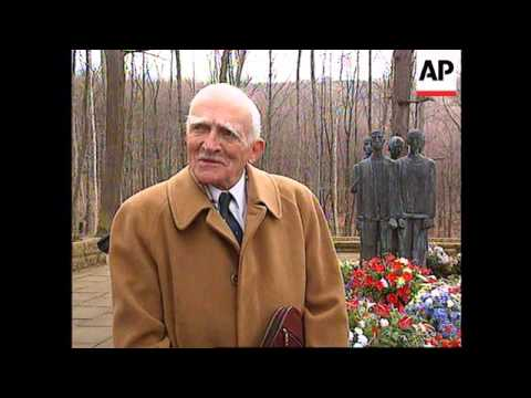 Germany - Ex-prisoners Visit Concentration Camp
