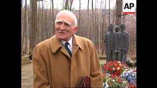 Germany - Ex-prisoners Visit Concentration Camp