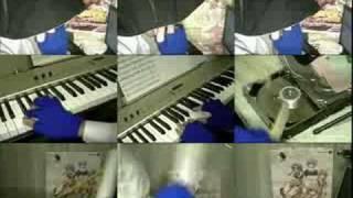 ニコニコ某からの転載動画で、kazu氏の1人○役シリーズです。
