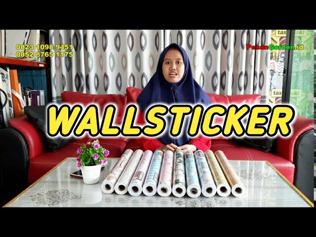 WallSticker | Sticker Murah  Gudang Gorden #wallsticker @Gudang Gorden