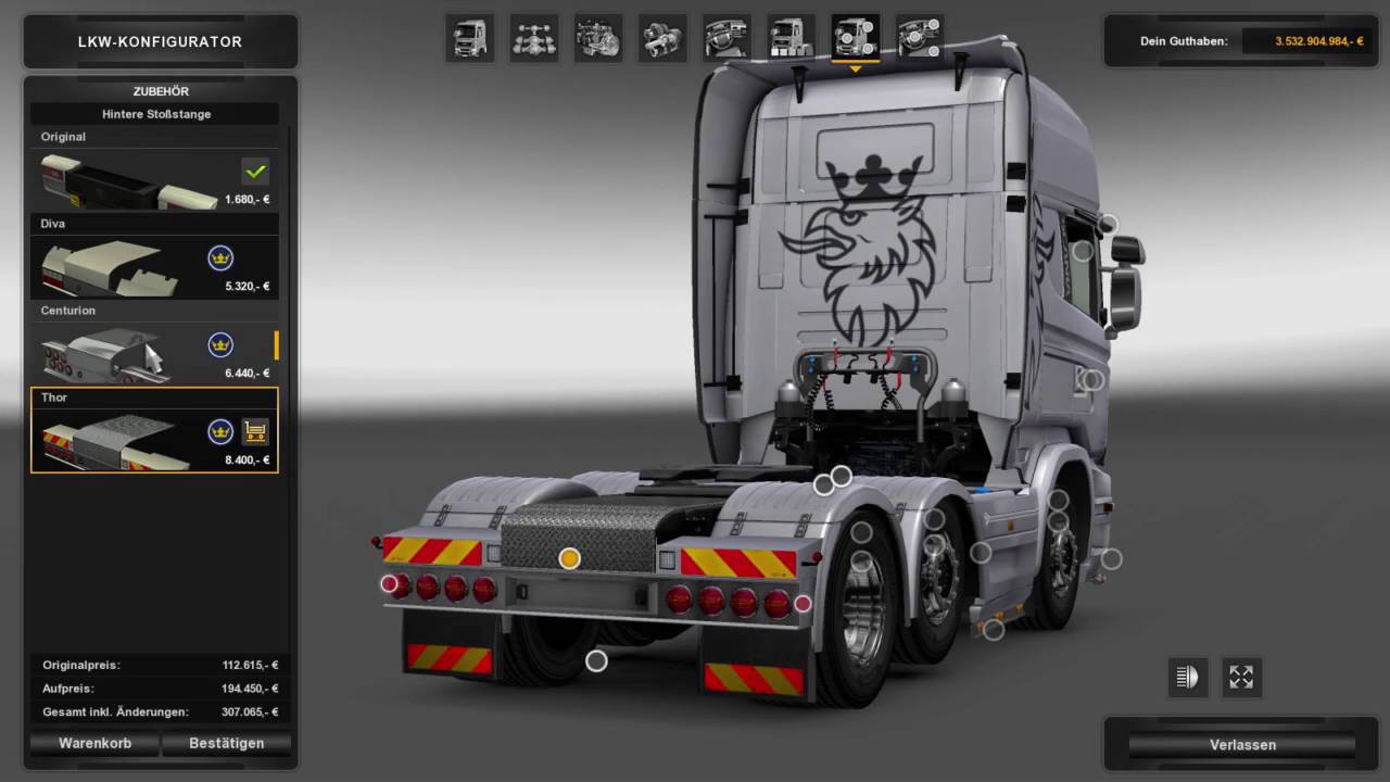 (Ets2 1.25)Scania GTm SCS Tuning - YouTube