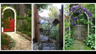 Home garden arch ideas