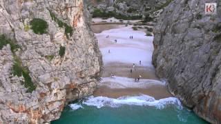 Drohne | Erster Drohnenflug durch den Torrent de Pareis, Sa Calobra, Mallorca