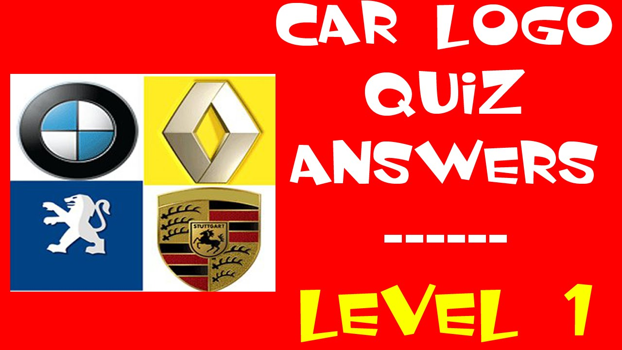 Car Logo Quiz Level 1 Walkthrough All Answers Youtube