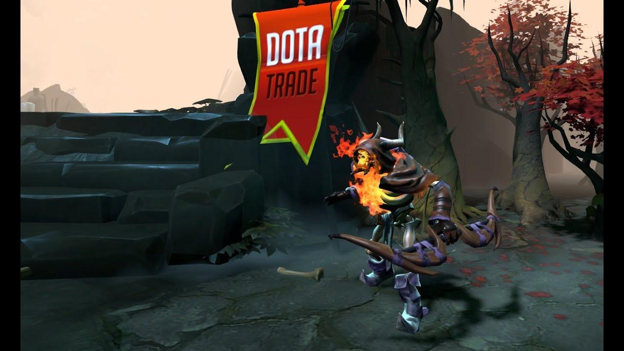 cloak of the fallen clinkz set preview dota 2 youtube