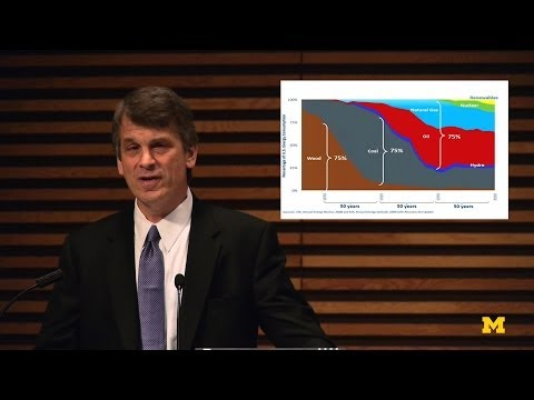 David Sandalow-Energy Institute Fall Symposium | MconneX | Lectures on Demand on YouTube