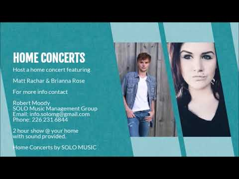 HOME CONCERTS BY  SOLO MUSIC MANAGEMENT GROUP