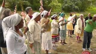 CUBA AFRICAN SANTERIA CEREMONY