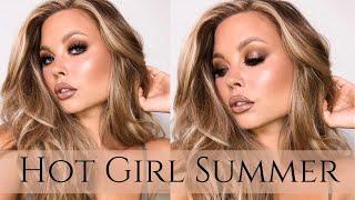 Pur x RawBeautyKristi : Summer Glam Makeup Look : Hot Girl Summer
