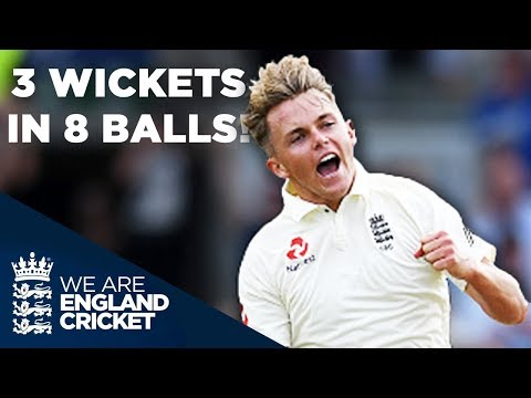 Sam Curran Takes an Incredible 3-Wickets in 8 Balls v India | New Balance Rewind