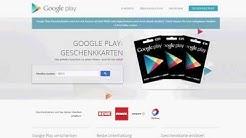 Google Play Geschenkkarten - Händlersuche online - hier gibt´s die Karten!