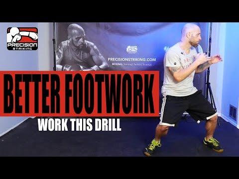 Footwork Drill for Average Joe Boxers | Tyson Fury Footwork