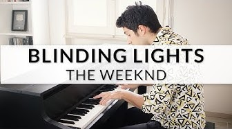 The Weeknd - Blinding Lights | Piano Cover