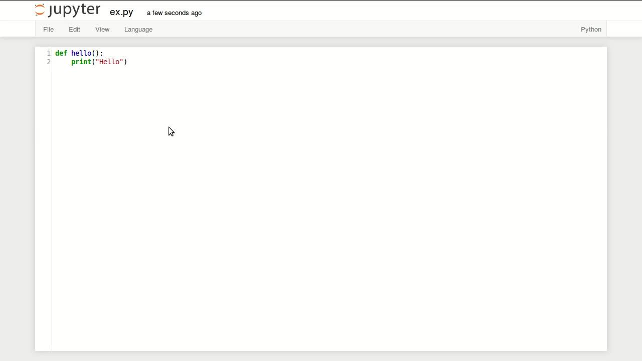 Python Code from Jupyter - YouTube