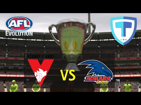 AFL Evolution - Grand Final - (Legend Difficulty) - Sydney VS Adelaide, PS4.