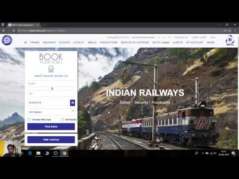 Quora]| How to get old booked ticket history in IRCTC website