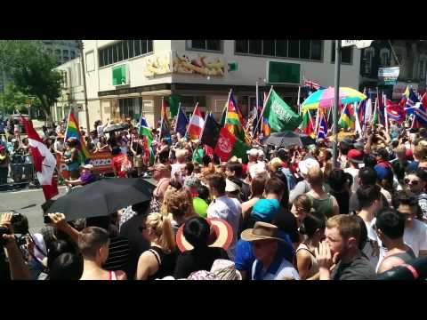 World Pride 2014 Parade: Flags of the World