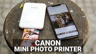 Thử in ảnh bằng Canon Mini Photo Printer cho điện thoại: rất nhanh gọn, chất lượng bản in đẹp