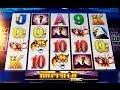 MAX BET! BIG WIN! - Buffalo Legends Slot Machine Bonus - Aristocrat