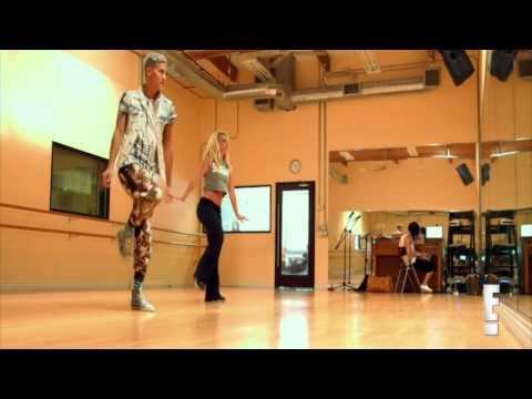 Britney Spears  Toxic Vegas Rehearsal