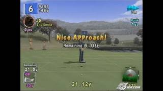 Hot Shots Golf Fore! PlayStation 2 Gameplay - Crushing