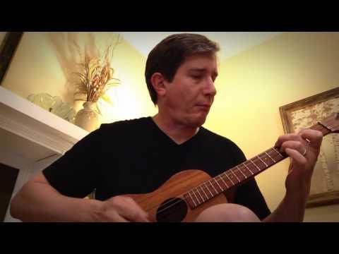 Constellations by Jack Johnson on baritone ukulele [with tab]