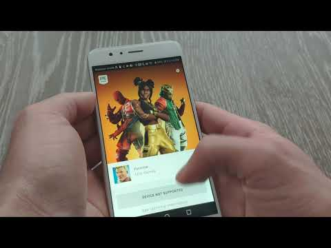How To Download And Install Epic Games Fortnite For Android Devices; Honor 8 Device Not Supported