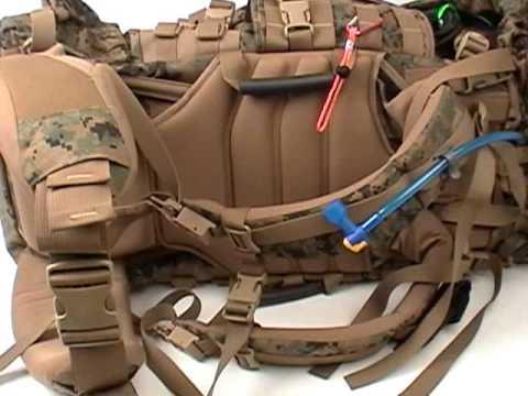 Huge Internal Frame Usmc Ilbe Molle Main Pack Used For