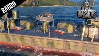 World of Warships TORPEDUS!  Tier 8 Destroyer Gameplay