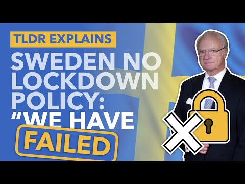 Failure of Sweden's No-Lockdown Strategy: With Surging Deaths Sweden's King Speaks Out - TLDR News