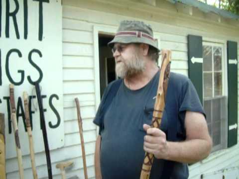 Wizard Staffs And Tree Spirit Walking Sticks Youtube