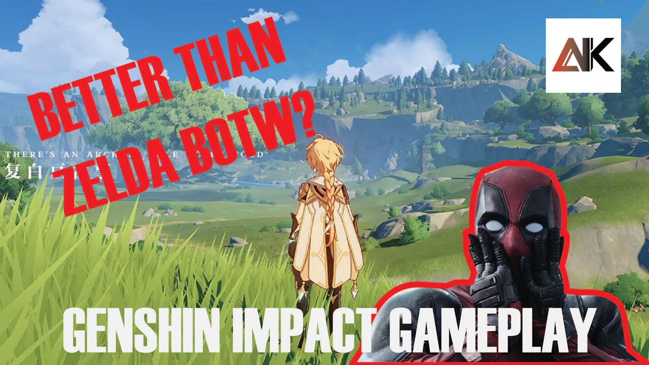 Is Genshin Impact Too Close To Breath Of The Wild