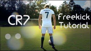 How to Shoot Like Cristiano Ronaldo | CR7 Freekick Tutorial