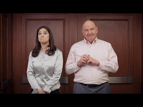 In the Elevator With Steve Ballmer