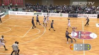 【サンテレビ】NBL(ナショナル・バスケットボール・リーグ)中継 第1ピリオド