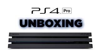 PS4 Pro Unboxing
