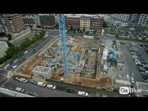 Time Lapse of Rockville Town Center   Phase I   The Upton & Cambria Suites Hotel