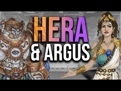 SMITE Hera New Info - Model, Argus And More Abilities!