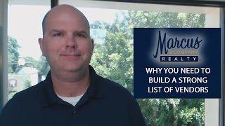 Sun Coast Real Estate Agent: The importance of a preferred vendors list