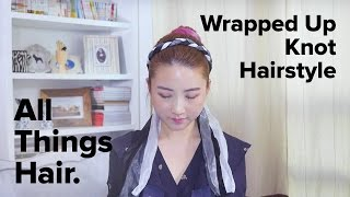 Gambar cover Wrapped Up Knot Hairstyle by Han Yoo Ra