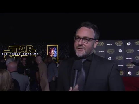 Star Wars - The Force Awakens: Colin Trevorrow Red Carpet Interview
