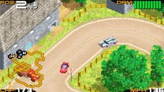 Racing Gears Advance (Gameboy Advance Gameplay)