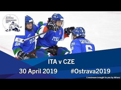 Italy V Czech Republic   2019 World Para Ice Hockey Championships