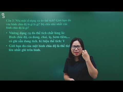 Hướng dẫn ôn tập học kỳ I - môn Lý lớp 6 - Cô Nguyễn Thị Loan