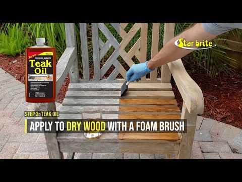 How to Clean & Restore Weathered Teak Furniture in 3 Steps